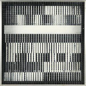 Marc Adrian, K 6, Op Art, Hinterglasmontage, Kunst kaufen, Konkrete Kunst, Kunst in Wien