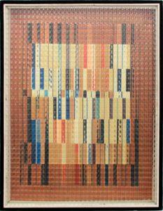 Marc Adrian - V2 - Konkrete Kunst - Op-Art - Kunst kaufen in Wien - Belvedere Künstler - Optical