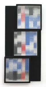 Marc Adrian - Hinterglasmontage - Op-Art - Konkrete Kunst - Kunst kaufen in Wien - Galerie -