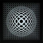 Victor Vasarely - Ohne Titel - Siebdruck