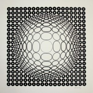 Victor Vasarely - Siebdruck