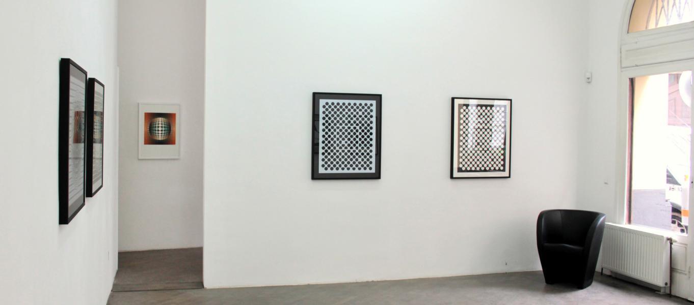 Victor Vasarely_Ausstellungsansicht_August2018_2