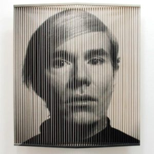 Ilse Haider - Andy - Op Art - Kunst Kaufen - Wien